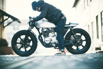Custom Yamaha XS360 by The Hookie | Cultura de massa no Século XXI (Mass Culture in the XXI Century) | Scoop.it