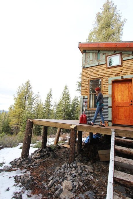 Tim and Hannah's Affordable DIY Self-Sustainable Micro Cabin  House Tour | Small Houses and Sustainable Architecture | Scoop.it