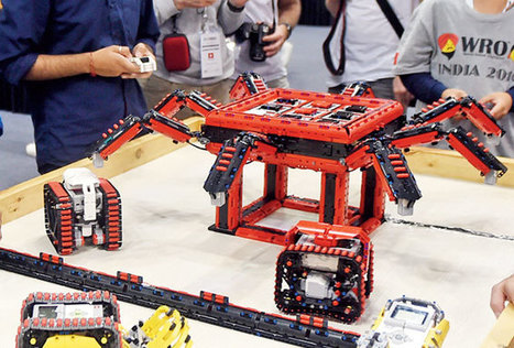 In Noida, robots do the recycling at the World Robotics Olympiad | Recycled News! - Curated by CleanRiver Recycling Solutions | Scoop.it