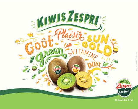 Zespri s'affiche ! | Fruits & légumes à l'international | Scoop.it