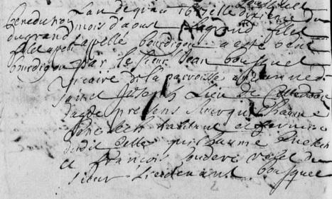 MAIORES NOSTRI: Bénédiction d'un filet de pêche à Sète en 1687 | GenealoNet | Scoop.it