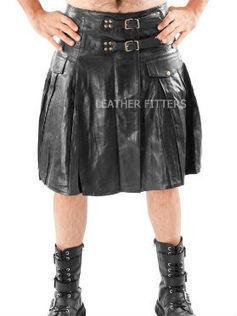 Men Leather Halloween Kilt   Scottish Leather Men Halloween Kilt   Celebration and traditions for Halloween   Scoop.it
