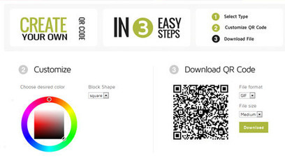Create QR Codes Online (Generators, JavaScript Plugins & Code Libraries) | QR-Code and its applications | Scoop.it