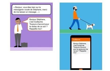 Orange lance la messagerie vocale... par SMS   Emploi, Travail et Réseaux Sociaux   Scoop.it