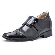 Patent Leather Dress fashion shoes with hidden heels 7cm/2.75inch elevator shoes on Sale for cheap wholesale at Topoutshoes.com | dress elevator shoes for men get taller | Scoop.it