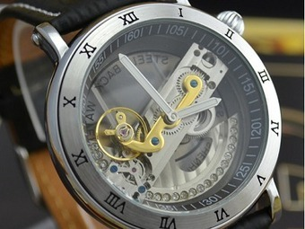 [Up to 50% Off] Luxury Special Design Transparent Dial Flywheel auto automatic self wind mechanical Watch | Why Can't Make The Luxurious Things In Life Affordable? | Scoop.it