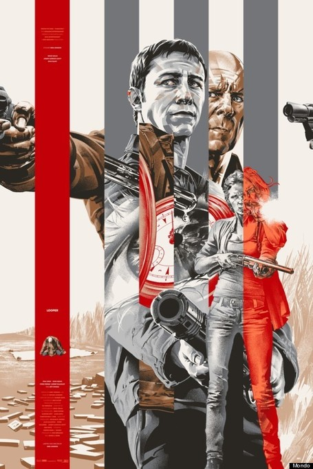 Amazing Mondo Posters For Rian Johnson's 'Looper' - Flicks and Bits | Amazing Rare Photographs | Scoop.it