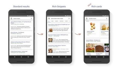 Google : Les Cartes enrichies remplacent les Extraits enrichis | Création de sites internet - Référencement Dijon | Scoop.it