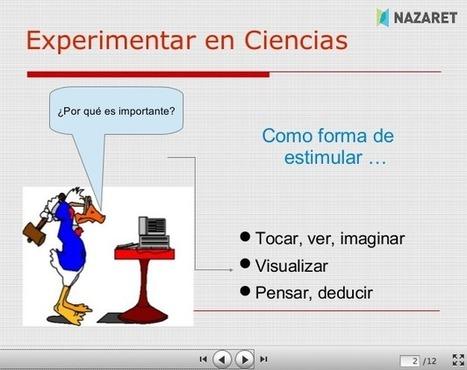 Trabajar el Área Científico–Técnica en el aula desde una perspectiva más visual y experimental | Las TIC y la Educación | Scoop.it