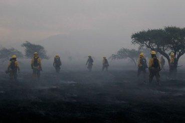 D'importants feux de forêt couvrent de fumée la capitale du Chili - LaPresse.ca   francisco-Muzard-Chili   Scoop.it