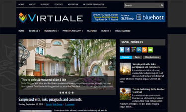 Virtuale | Blogger themes | Scoop.it
