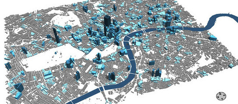 en-topia: TweetCity: Building London using Real time feeds and CityEngine | Spatial Technology | Scoop.it