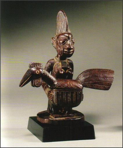 Yoruba figural offering bowl - RAND AFRICAN ART | Arte Africano Antiguo: La Cultura Yoruba | Scoop.it