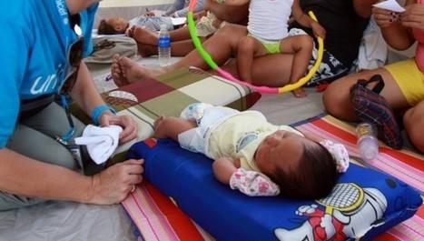 Philippines : Kathlyn, bébé de l'après typhon - Unicef France (Communiqué de presse) | Titis Doudous | Scoop.it