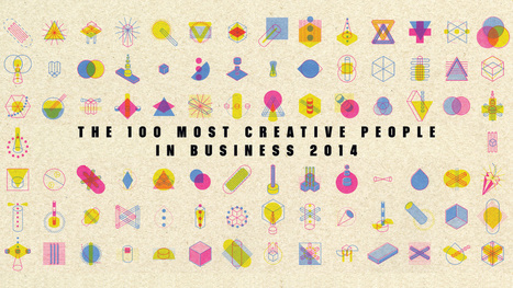 100 Most Creative People 2014 | Les techniques du e-marketeur | Scoop.it