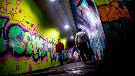 Graffiti and Street Artists Finish Makeover of 191st Street Tunnel - ANIMAL | Tracking Transmedia | Scoop.it