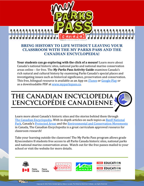 My Parks Pass | HCS Learning Commons Newsletter | Scoop.it
