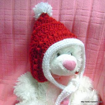 X'Mas baby pixie hat | knit,crochet,dye,spin,Marketing & Sales | Scoop.it