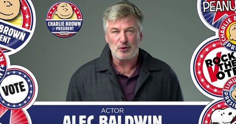 Alec Baldwin endorses Charlie Brown for president | ♨ Family & Food ♨ | Scoop.it