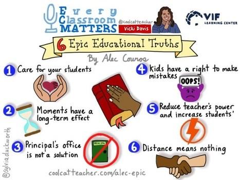 Alec Couros' 6 Epic Educational Truths   Durff   Scoop.it