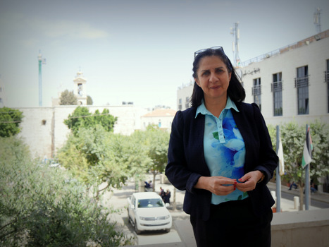 Vera Baboun, femme de paix, à la tête de la ville palestinienne de Bethléem | A Voice of Our Own | Scoop.it