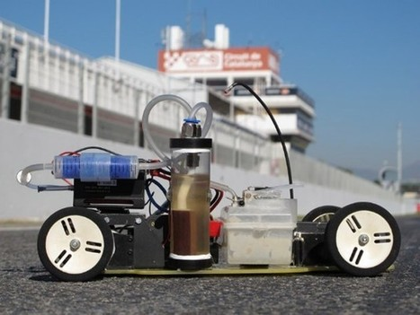 Video: dAlH2Orean, the aluminum can-powered RC car | EMobility | Scoop.it