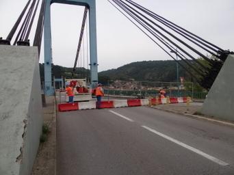 Le pont est fermé à la circulation | Tourisme en pays viennois | Scoop.it