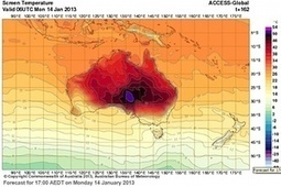 #Australia adds new colour to temperature maps as heat soars #climate #heatwave | Messenger for mother Earth | Scoop.it
