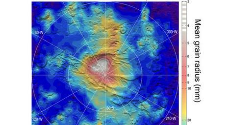NASA: 'Dry Ice' Snowfall on Mars - the only known example anywhere in our solar system | Amazing Science | Scoop.it