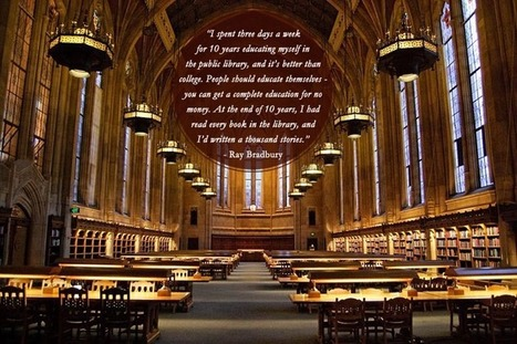 7 Great quotes about libraries | The Information Specialist's Scoop | Scoop.it