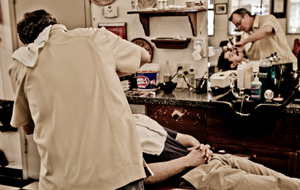 Photo Essay: The Straight Razor Shave | Shaving Through the Ages | Scoop.it