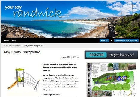Randwick City Council - News - Have your say on a Coogee playground upgrade | This is our place. | Scoop.it