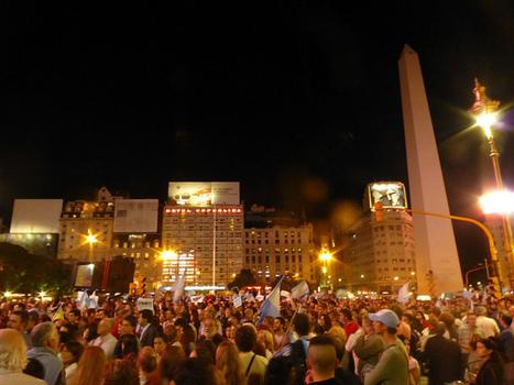 Cacerolazo 18A Buenos Aires: Manifestaciones populares en el Obelisco | Derechos Humanos | Scoop.it