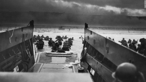 Photos: The Allied invasion of Normandy - CNN.com   Social Studies Chronicle   Scoop.it