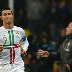 Bento expects regular Ronaldo despite century - FIFA.com | Soccer In Europe | Scoop.it