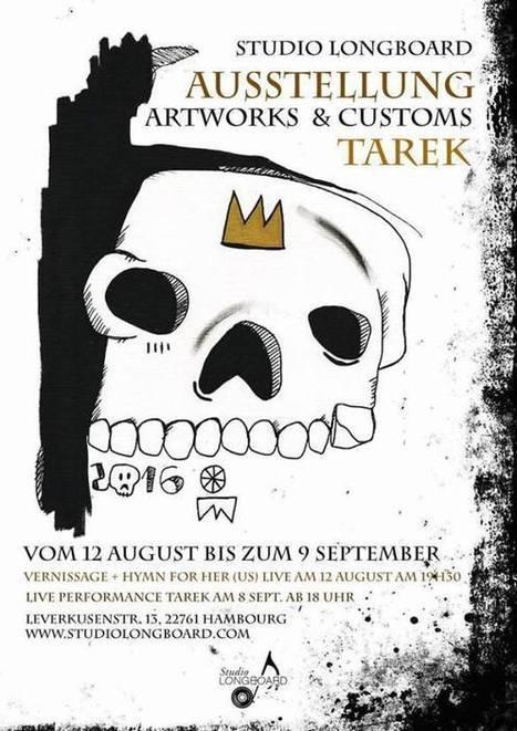 Ma prochaine exposition solo à Hambourg ! | The art of Tarek | Scoop.it