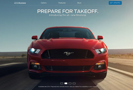 Recom Farmhouse – Mustang 2015 Launch | 3D Lighting | Automotive Photography Techniques, Tutorials, & Inspiration | Scoop.it
