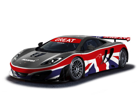 McLaren MP4-12C GT3. A New Look For Goodwood | Crank and Piston Car Culture Lifestyle Community | Supercar News | Scoop.it