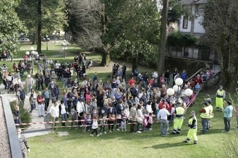 Inaugurato il parco giochi donato da Lindt, tra orsetti e coniglietti - Varese News | Giochi e cartoni | Scoop.it