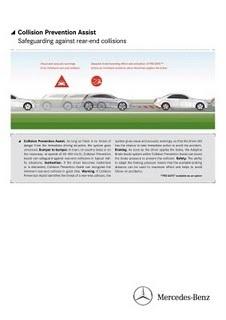 Mercedes : radar anti collision sur la Classe B | Sécurité et prévention routière | Scoop.it