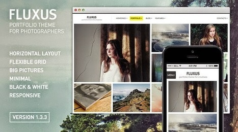 Best WordPress Photography Themes Only for Photographers | Web Design Spider | Free WordPress Themes | Scoop.it
