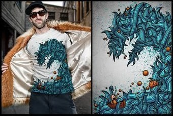 46 creativos diseño de camisetas - Recursodesign | diseño web | Scoop.it