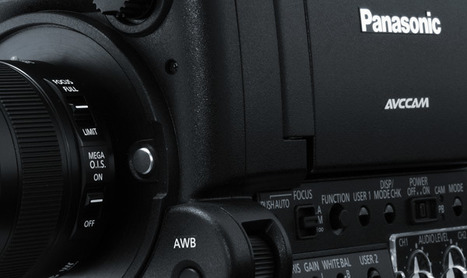 """Panasonic Introduces AG-AF100A Micro Four-Thirds Camera. Features 24p, """"10-bit"""" 4:2:2 output 