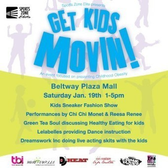 """Youth Resolution #12MonthsOfService Event """"Get Kids Movin!"""" to Prevent Childhood Obesity 