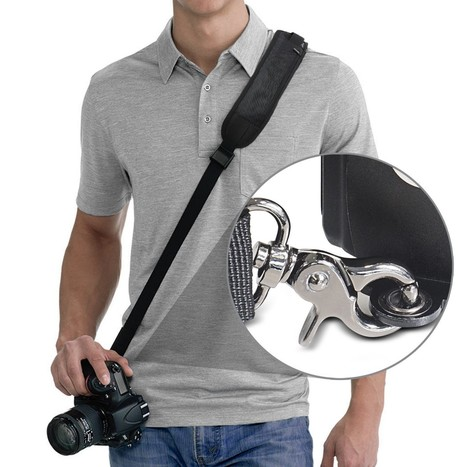 RAPIDFIRE™ QUICK RELEASE SLING SHOULDER NECK STRAP BY ALTURA PHOTO FOR DSLR CAMERAS | Top Sites | Scoop.it