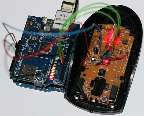 Convert Optical Mouse into Arduino Web Camera | morezane | Scoop.it