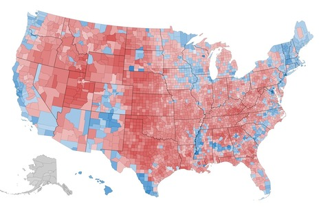 What This 2012 Map Tells Us About America, and the Election | Geography Education | Scoop.it