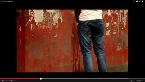 En Inde, ils ont trouvé THE technique pour empêcher ces messieurs d'uriner dans la rue ! | Inspiring Ideas | Scoop.it