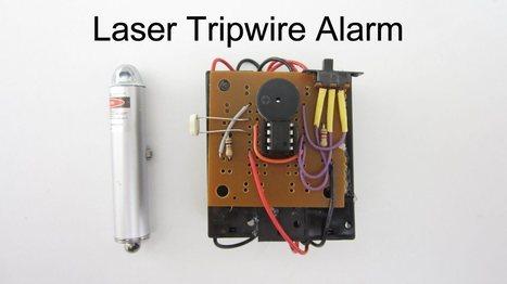 DIY Hacks & How To's: Laser Tripwire Alarm   DIY   Scoop.it