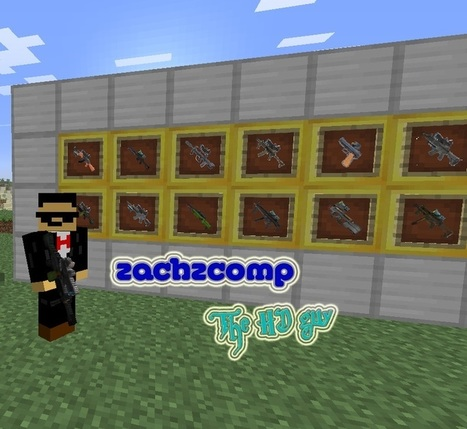 Wholy's Weapon Pack for Gun Customization Mod 1.6.2 | Minecraft 1.6.2 Mods | Scoop.it